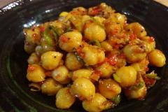 ひよこ豆のサブジ